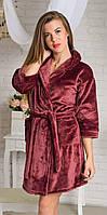 Нежный женский махровый халат от производителя, фото 1