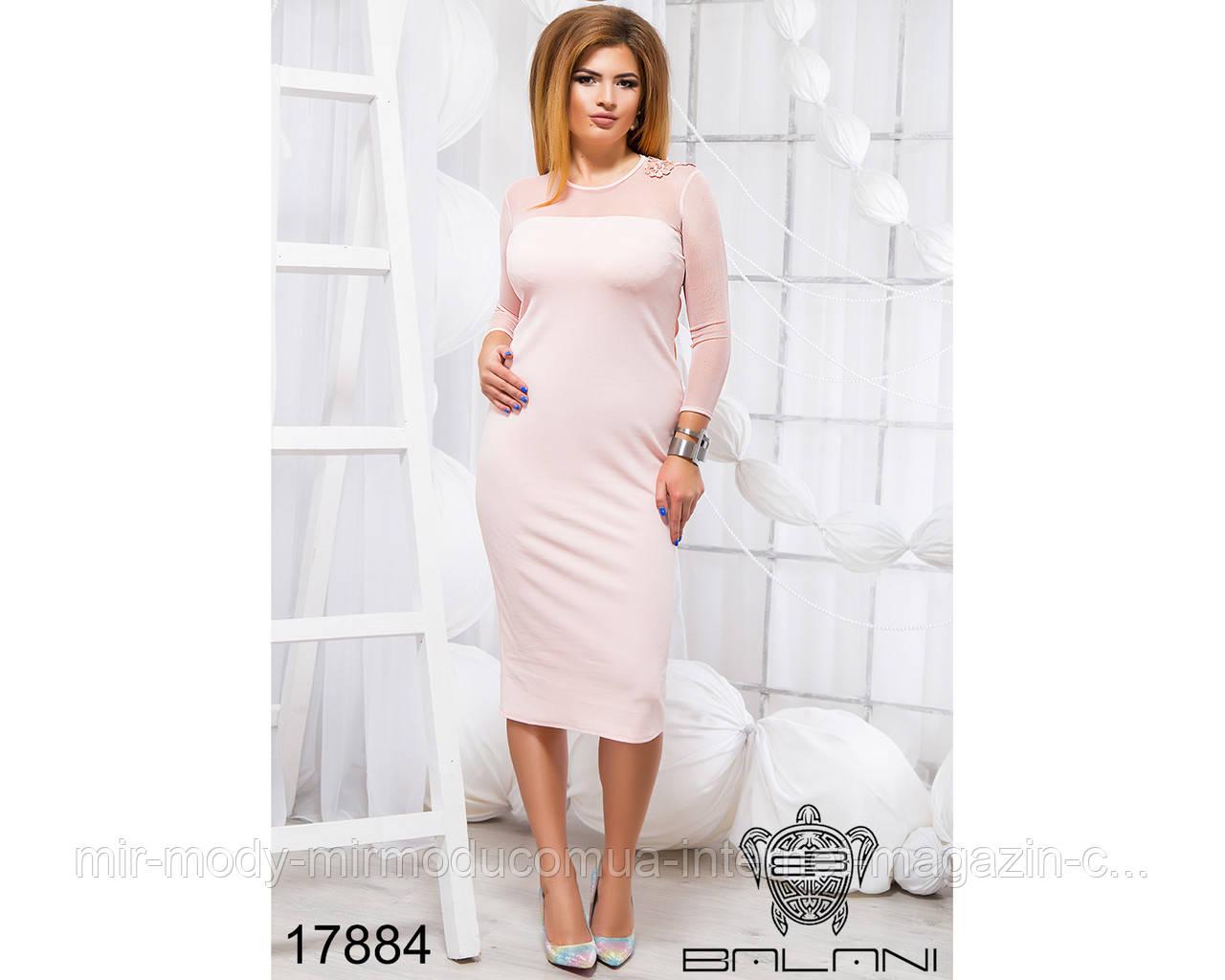 Элегантное платье - 17884 (б-ни)