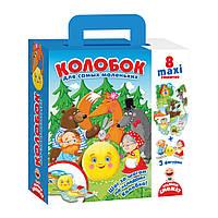 Развивающая игра Путешествие сказкой Колобок, Vladi Toys, VT2909-11