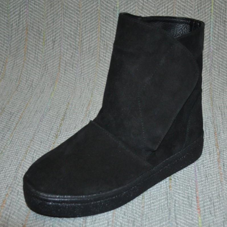 Замшевые ботинки, угги размер 40 41