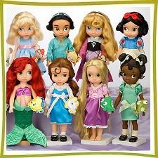 Куклы героини мультфильмов