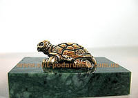 Бронзовая фигурка Черепаха, памятный сувенир