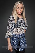 Блуза женская модель №427-7, размеры 42-44,46-48