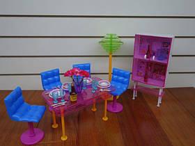 Кукольная мебель Глория 2912 Обеденная комната для кукол Барби, Gloria
