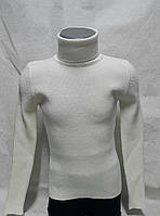 Белый свитер для девочек 116,128,140,152 роста Hope