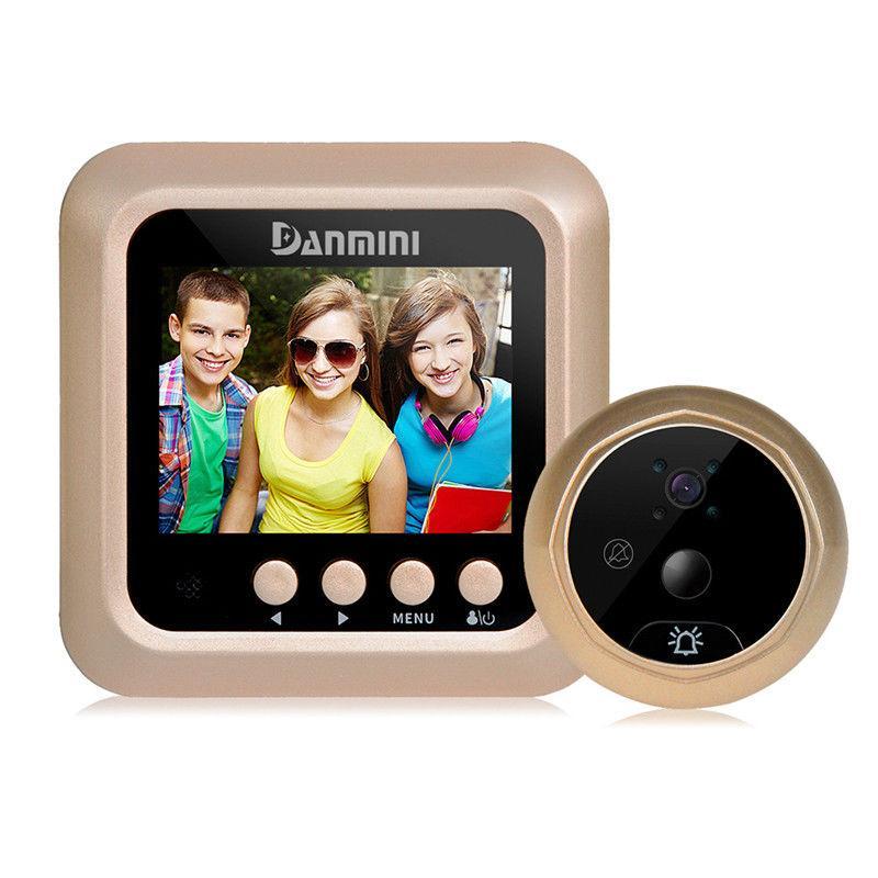 Видеоглазок с датчиком движения Home Light G2 N 2,5