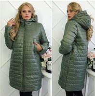 Пальто женское на овчине,Батал XL(48)-XXL(50), 3XL(52)-4XL(54),Украина