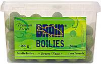 Бойлы Brain Green Peas (Горох) Soluble 1000 gr