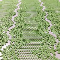Кружево для торта №2 зеленое Украса, фото 1