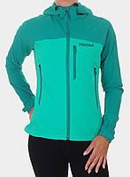 Куртка Softshell Marmot Estes Hoody Lady - gem green/green garnet