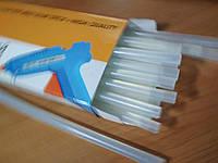 Термоклей прозрачный стержень для клеевого пистолета hot melt glue stick 11*300 мм