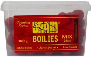 Бойлы Brain Strawberry (Клубника) Soluble 1000 gr