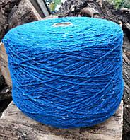 Пряжа твид Килкар Kilkarra Tweed ярко синий