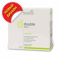 Оживляющее средство для волос в ампулах Nouvelle Double Effect Nutrimix