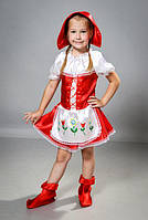 Детский карнавальный костюм Красной шапочки