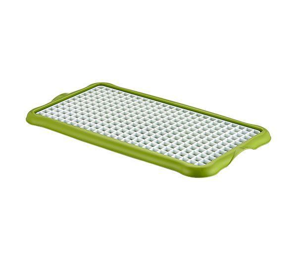 Подставка для мокрой посуды пластиковая 40*22