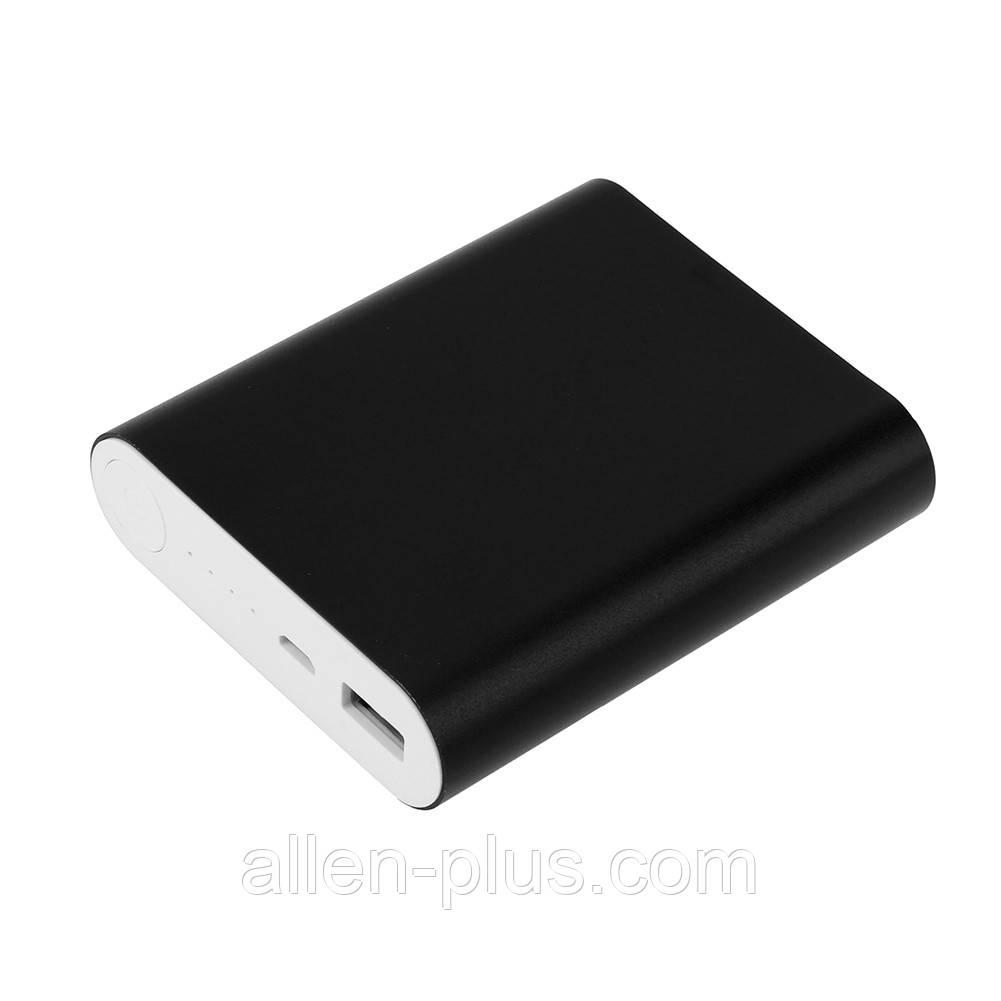 Powerbank Повербанк для 4-х 18650 Li-Ion метал (Чорний)