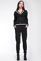 Стильный женский пуловер из трикотажа