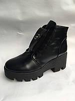 Женские ботинки кожзаменители опт