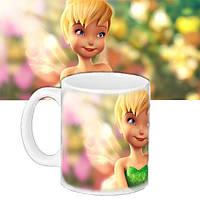Детская чашка с принтом Фея динь динь