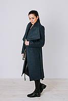 Пальто демисезонное шерстяноеД 346 джинс
