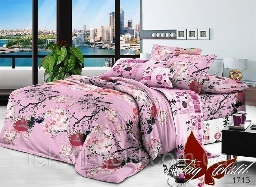 2-спальный Комплект постельного белья 1713 поплин ТМ TAG
