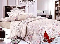 Полуторный комплект постельного белья с компаньоном 1703 поплин
