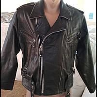 Кожаная куртка секонд хенд оптом
