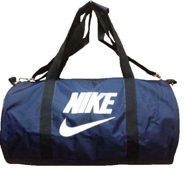 0de0b79e23ba Сумка спортивная копия Nike 25л 45*24 S000040 круглая, синяя ...