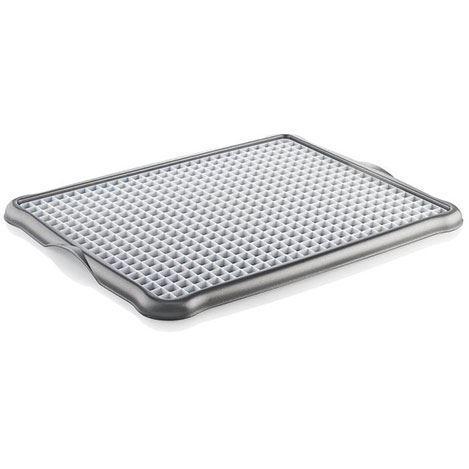 Підставка для мокрої посуду пластикова 42*33