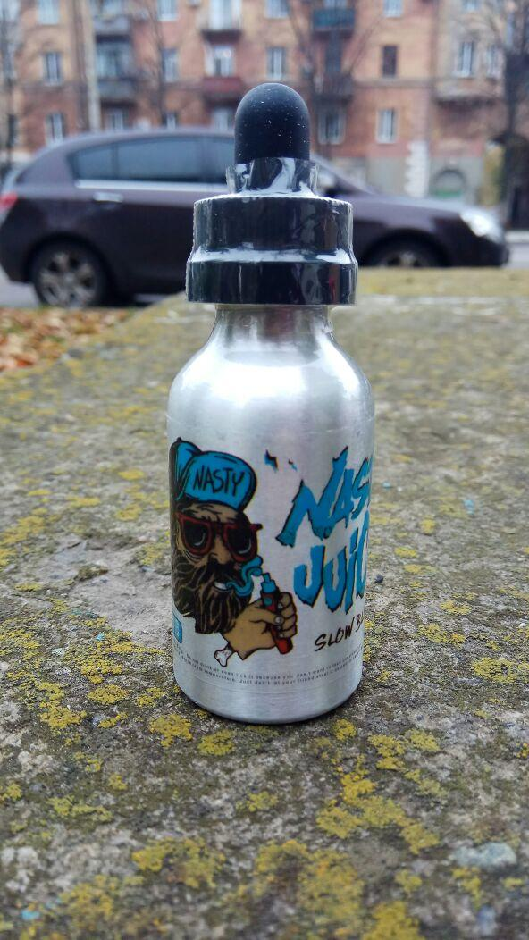 Премиум жидкость Nasty JUICE - SLOW BLOW 50ml 3mg