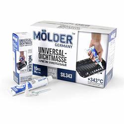 Универсальный Силиконовый герметик Molder Universal-Dichtmasse Grau SIL343