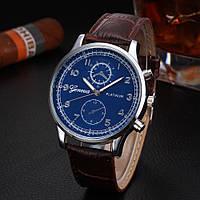 Мужские часы Geneva Platinum brown