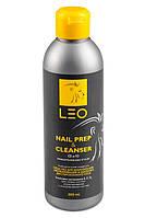 Leo 2в1 Cleanser & Nail prep - средство для обезжиривания ногтя и снятия липкого слоя, 300 мл