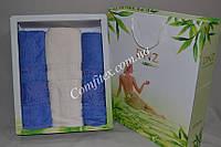 Комплект полотенец DNZ Garden Bamboo - 3шт. (2 лица, баня) - Турция 1923