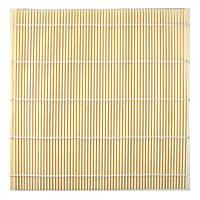 Циновка бамбуковая для роллов 23х24 см (30820)