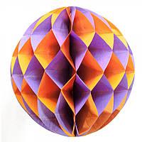 Шар декоративный бумажный d-25 см (30830)