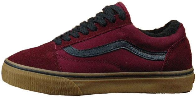 Мужские кеды Vans Old Skool Winter Edition Bordo Gum 11 - Интернет-магазин  обуви 8ae69b67ce2e5