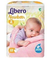 Подгузники LIBERO Newborn 2 Mini (3-6 кг) 88шт.
