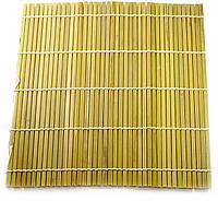 Циновка бамбуковая для роллов 23х24 см (30771)