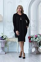 Эффектное модное платье 489532