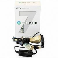 Лампы LED H7 Stellar F7с обманками  Canbus H7 5500k (белый цвет) гарантия 1 год