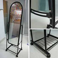 Зеркало стоячее для магазина/примерочной (ширина 42см), фото 1