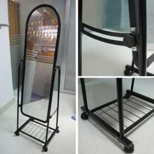 Зеркало стоячее для магазина/примерочной (ширина 35см)