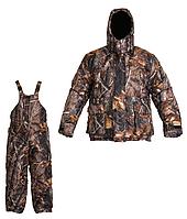 Зимний костюм микрофибра для охоты и рыбалки темний лес