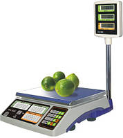 Весы торговые со стойкой для покупателей до 40 кг