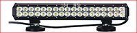 Двухрядная светодиодная LED фара дальнего света D2 - 72W