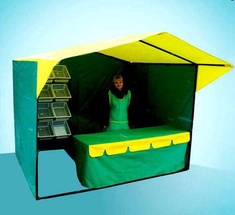 Торговая палатка 3х3м каркас 20мм (люкс)