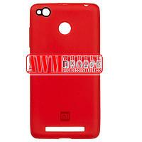 Накладка SILICONE CASE для Xiaomi Redmi 3S (Redmi 3X, Redmi 3 Pro) (красный)