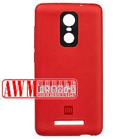 Накладка SILICONE CASE для Xiaomi Redmi Note 3 (красный)
